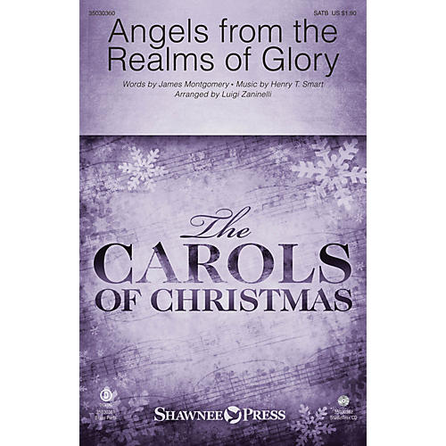 Shawnee Press Angels from the Realms of Glory SATB/Childrens Choir arranged by Luigi Zaninelli-thumbnail