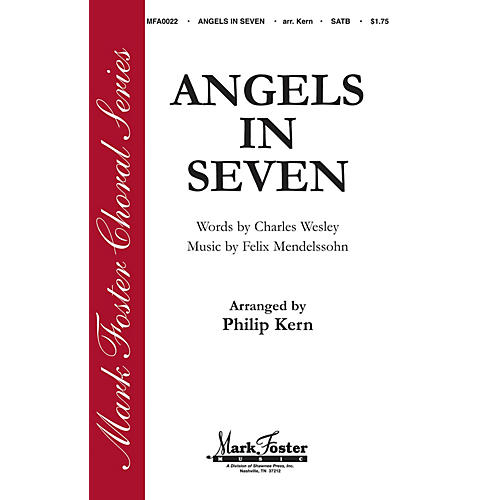 Shawnee Press Angels in Seven (Mark Foster Horizon Series) SATB arranged by Philip Kern-thumbnail