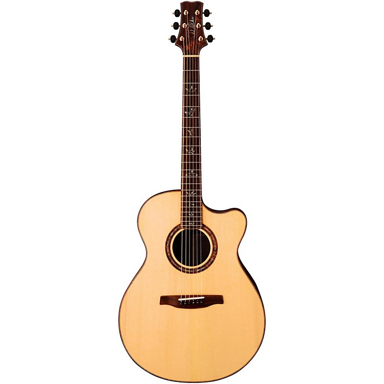 PRS Angelus Cutaway Standard Acoustic-Electric Guitar Natural Cocobolo Fretboard