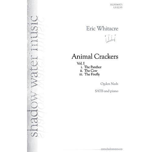 Hal Leonard Animal Crackers SATB composed by Eric Whitacre