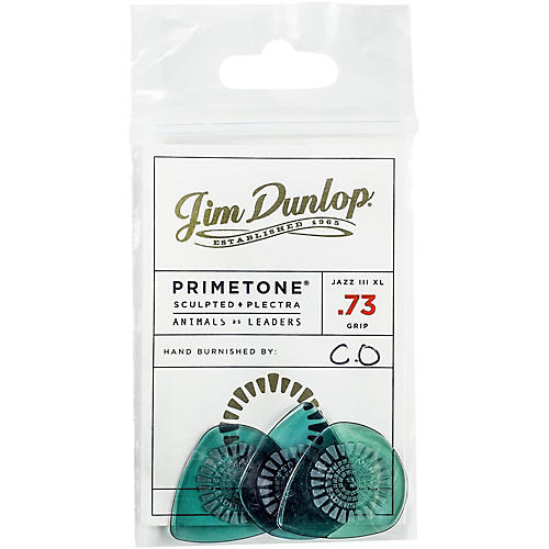 Dunlop Animals As Leaders Primetone, Green Guitar Picks-thumbnail