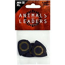 Dunlop Animals As Leaders Tortex Jazz III XL, Black, Guitar Picks