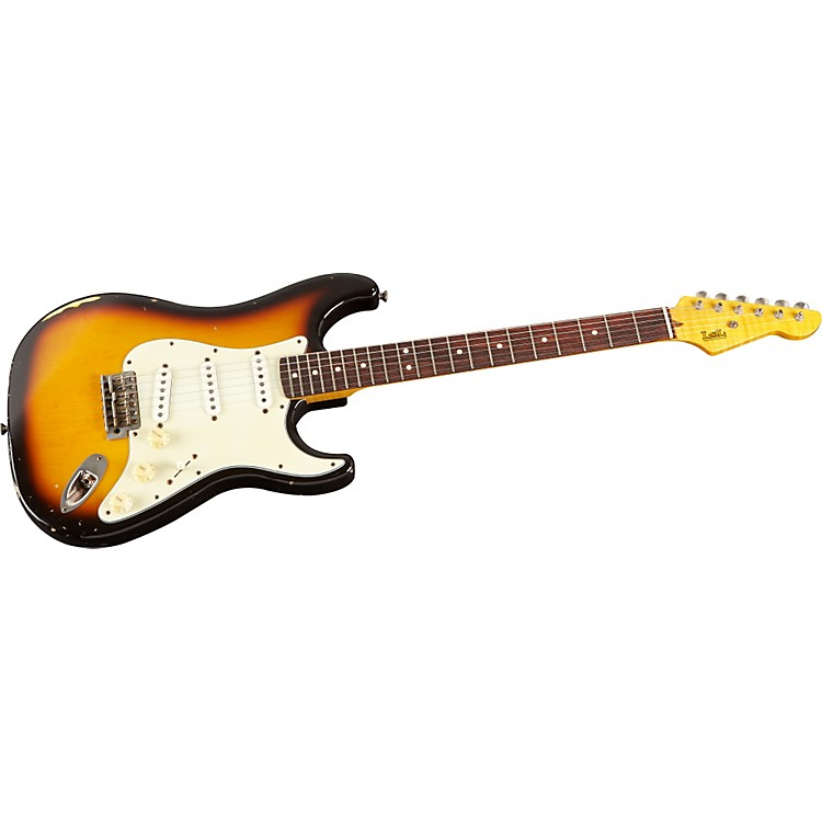 LsL Instruments Ann Series Saticoy Electric Guitar 3 Tone Sunburst Rosewood