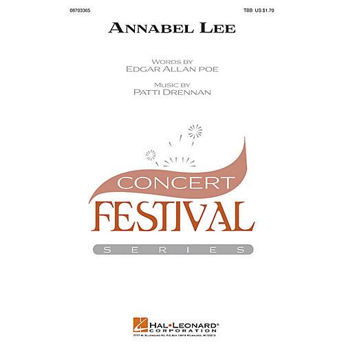 Hal Leonard Annabel Lee TBB composed by Patti Drennan
