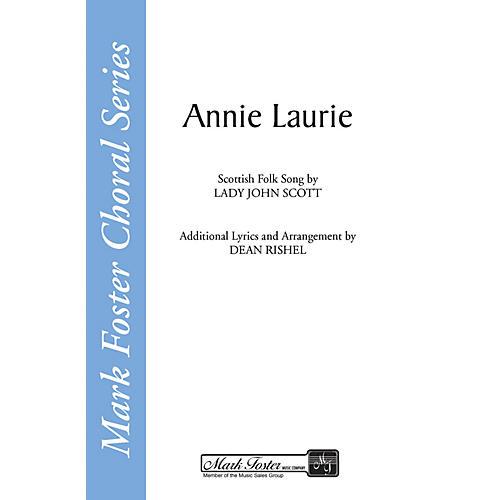 Shawnee Press Annie Laurie SATB a cappella arranged by Dean Rishel-thumbnail