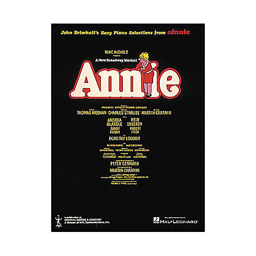 Hal Leonard Annie for Easy Piano