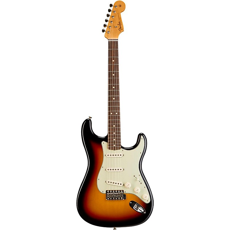 Fender Custom ShopAnniversary 1964 Stratocaster Closet Classic Electric Guitar3-Tone Sunburst