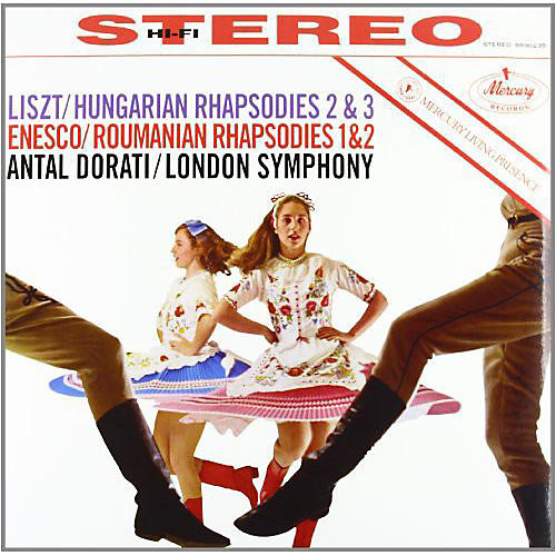 Alliance Antal Dor ti - Roumanian Rhapsodies / Hungarian Rhapsodies