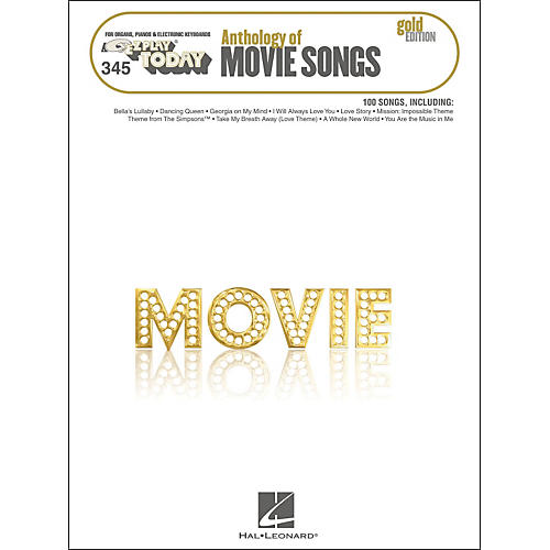 Hal Leonard Anthology Of Movie Songs Gold Edition E-Z Play 345-thumbnail
