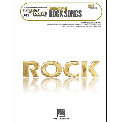Hal Leonard Anthology Of Rock Songs - Gold Edition E-Z Play 341
