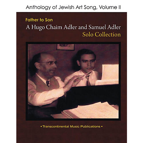 Transcontinental Music Anthology of Jewish Art Song, Vol. 2 Transcontinental Music Folios Series Softcover by Samuel Adler-thumbnail