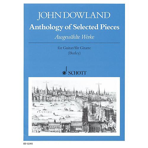 Schott Anthology of Selected Pieces (Guitar Solo) Schott Series-thumbnail