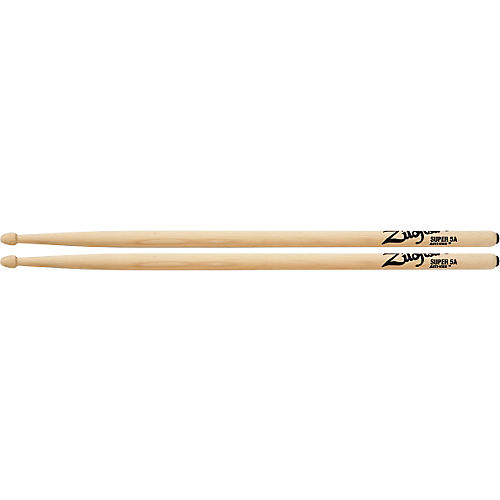 Zildjian Anti-Vibe Drumsticks Super 5A Wood
