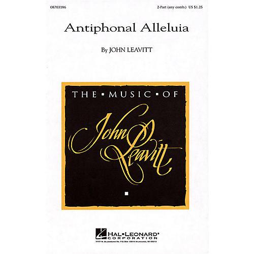 Hal Leonard Antiphonal Alleluia 2-Part any combination