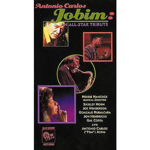 View Video Antonio Carlos Jobim: An All-Star Tribute (VHS)