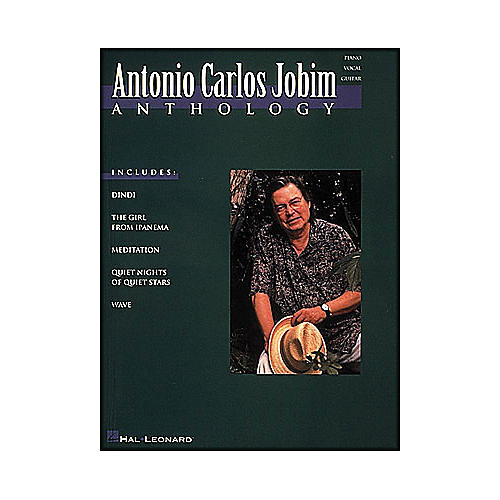 Hal Leonard Antonio Carlos Jobim Anthology arranged for piano, vocal, and guitar (P/V/G)