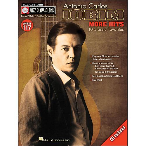 Hal Leonard Antonio Carlos Jobim: More Hits - Jazz Play-Along Volume 117 (CD/Pkg)-thumbnail