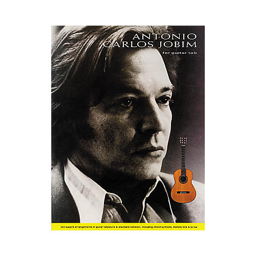 Hal Leonard Antonio Carlos Jobim for Fingerstyle Guitar Book-thumbnail