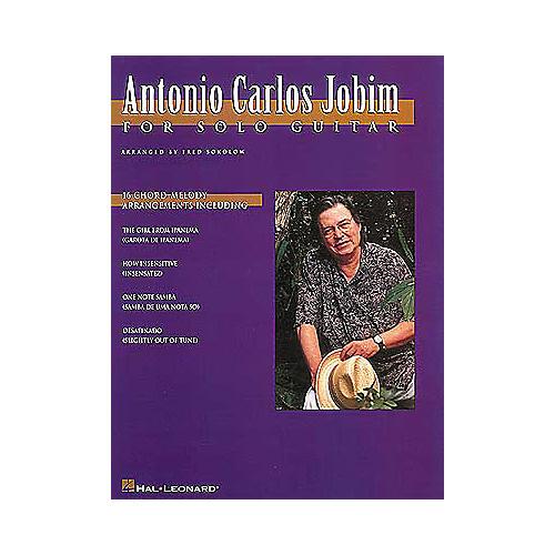 Hal Leonard Antonio Carlos Jobim for Solo Guitar