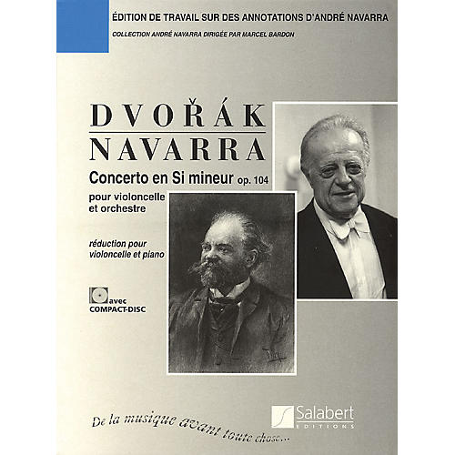 Editions Salabert Antonín Dvorák - Concerto in B minor (Cello and Piano) String Series Softcover with CD-thumbnail