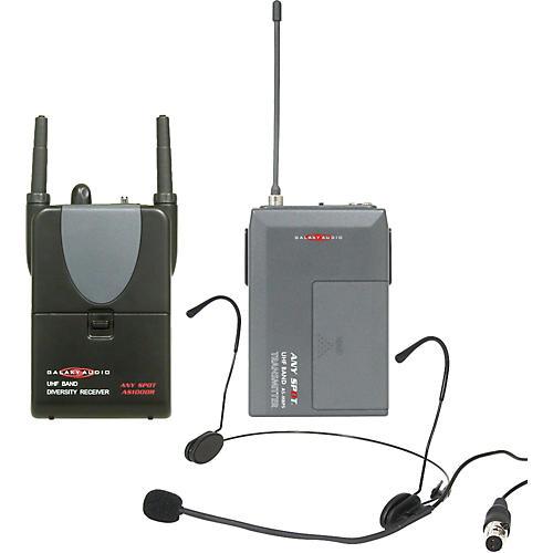 Galaxy Audio Any Spot Headset Wireless Camera Kit