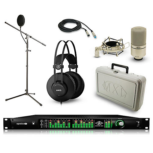 Universal Audio Apollo 16 Thunderbolt QUAD, K52 and 990 Package-thumbnail