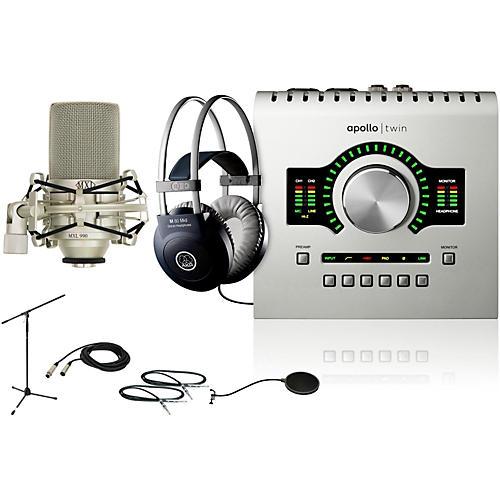 Universal Audio Apollo Twin DUO M80 Recording Bundle-thumbnail
