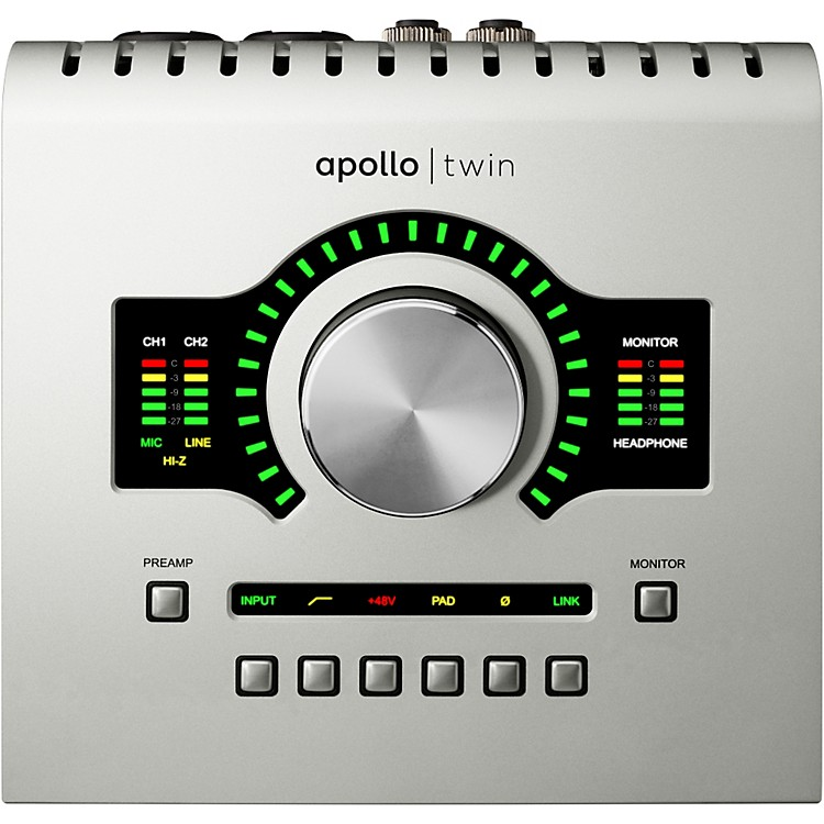 Universal Audio Apollo Twin DUO with Realtime UAD Processing