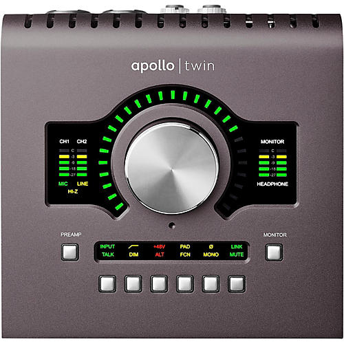 Universal Audio Apollo Twin MKII SOLO Thunderbolt Audio Interface-thumbnail