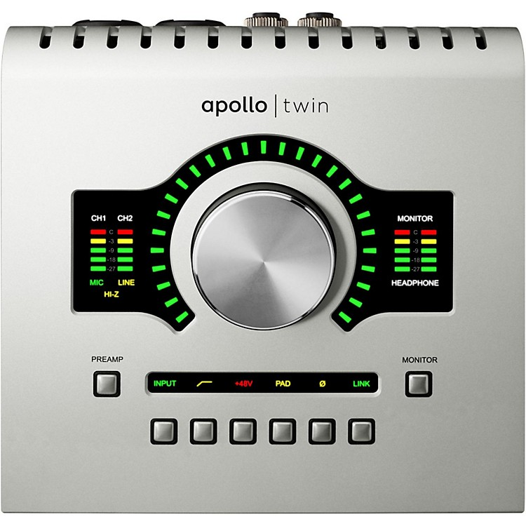 Universal AudioApollo Twin SOLO with Realtime UAD Processing