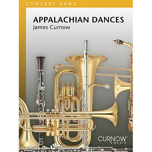 Curnow Music Appalachian Dances (Grade 4 - Score and Parts) Concert Band Level 4 Composed by James Curnow-thumbnail