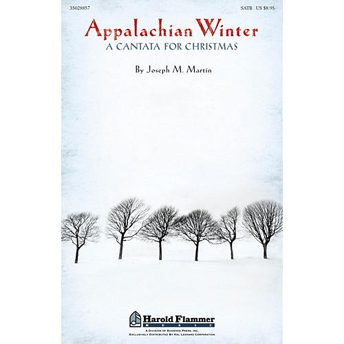 Shawnee Press Appalachian Winter ORCHESTRATION ON CD-ROM Composed by Joseph Martin