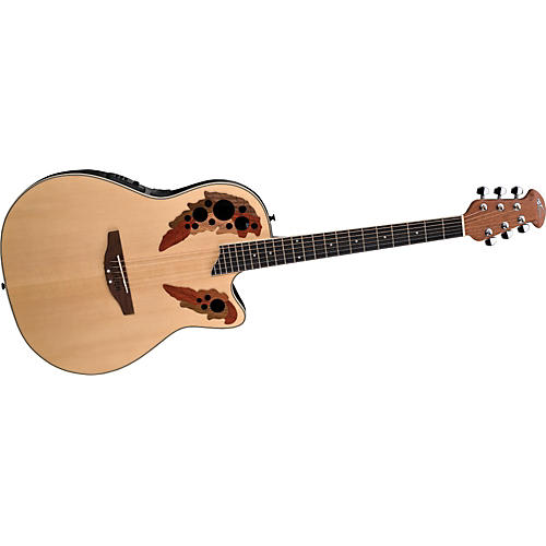 Ovation Applause Series AE148 Super Shallow Cutaway Acoustic-Electric Guitar-thumbnail
