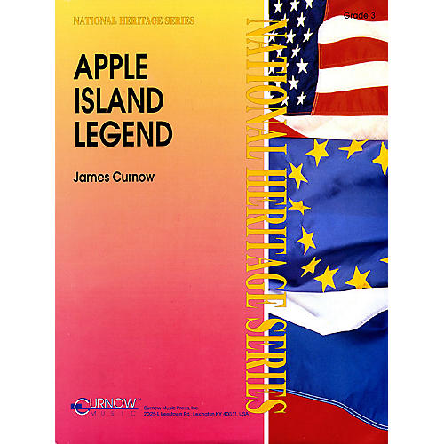 Curnow Music Apple Island Legend (Grade 3 - Score and Parts) Concert Band Level 3 Composed by James Curnow-thumbnail