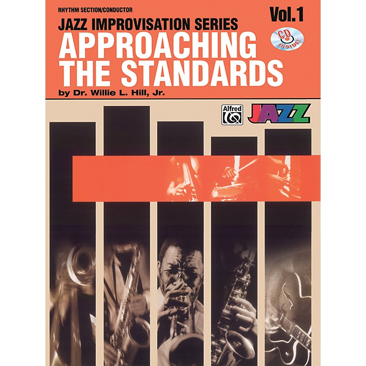AlfredApproaching the Standards Volume 1 Rhythm Section / Conductor Book & CD