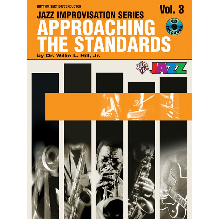AlfredApproaching the Standards Volume 3 Rhythm Section / Conductor Book & CD