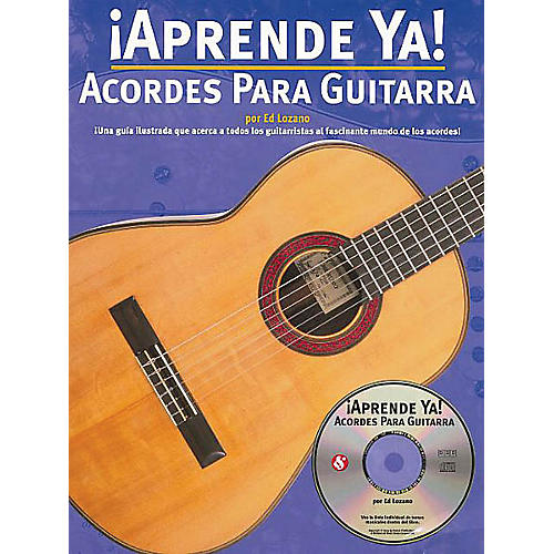 Music Sales Aprende Ya! Acordes Para Guitarra Music Sales America Series Softcover with CD Written by Ed Lozano-thumbnail