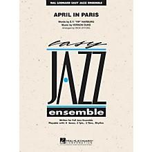 Hal Leonard April in Paris Jazz Band Level 2 Arranged by Rick Stitzel