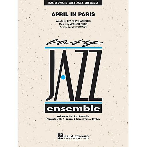 Hal Leonard April in Paris Jazz Band Level 2 Arranged by Rick Stitzel-thumbnail