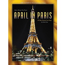 Music Minus One April in Paris & Other Favorite Love Songs Music Minus One Series Softcover with CD