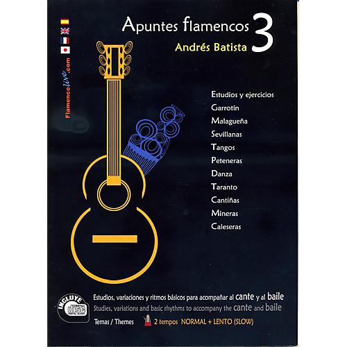 Mel Bay Apuntes Flamencos Vol. 3 Book/CD Set