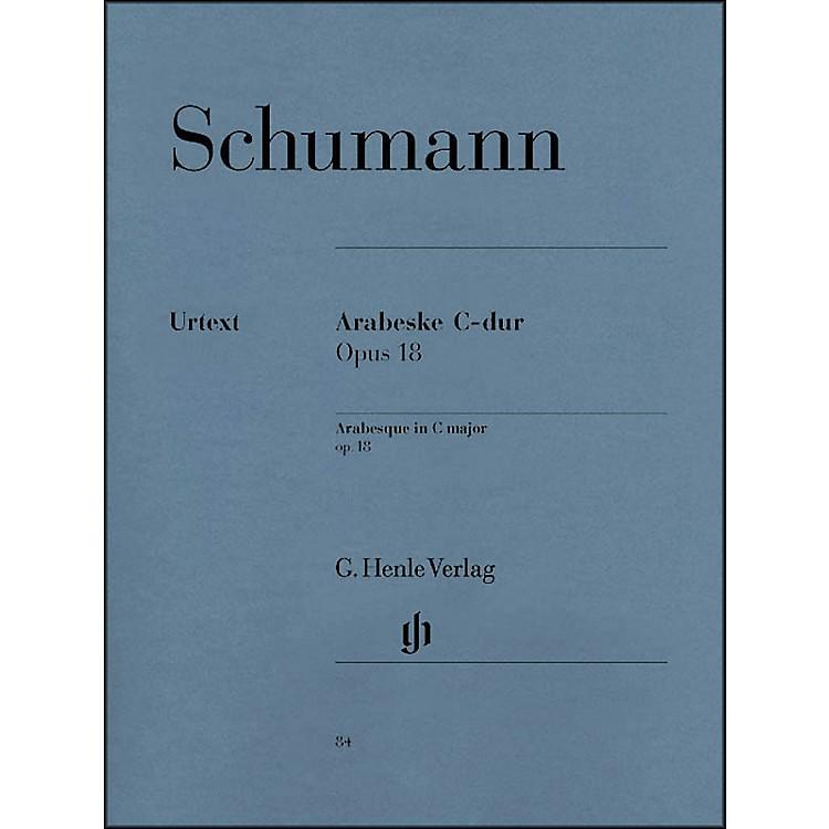 G. Henle VerlagArabesque C Major Op. 18 By Schumann
