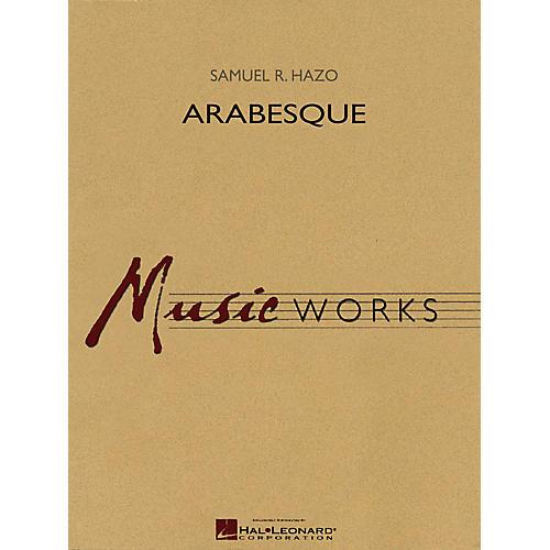 Hal Leonard Arabesque Concert Band Level 5 Composed by Samuel R. Hazo-thumbnail