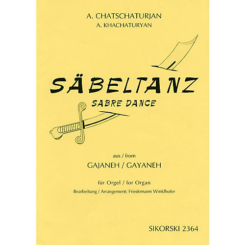 Sikorski Aram Khachaturian - Sabre Dance (from the ballet Gayaneh) Misc Series Edited by Freidemann Winklhofer-thumbnail