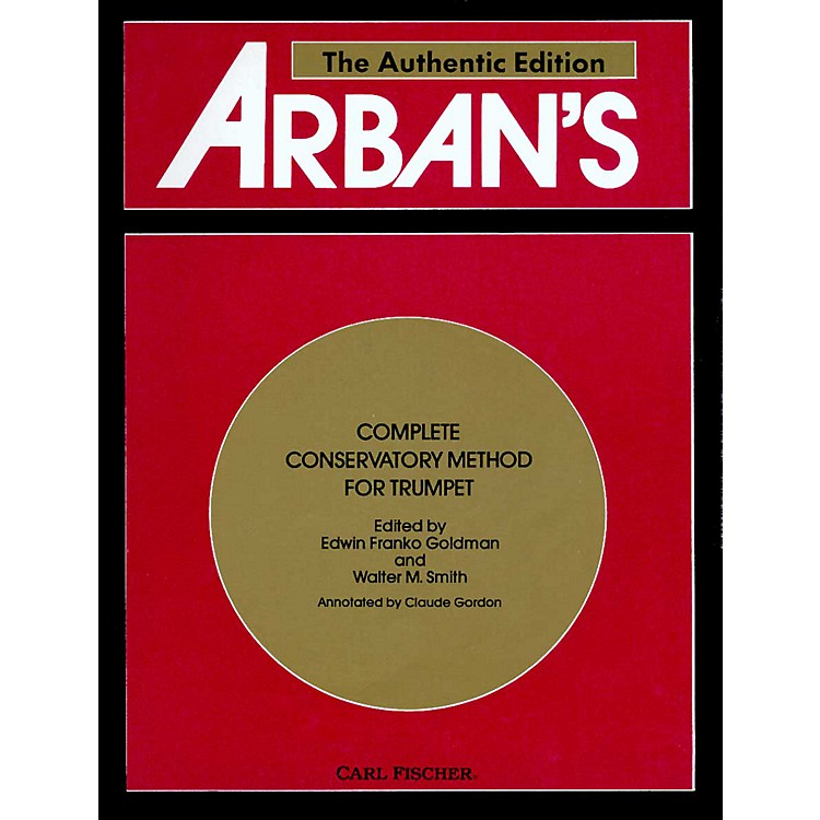 Carl FischerArban's Complete Method-Trumpet (Book)