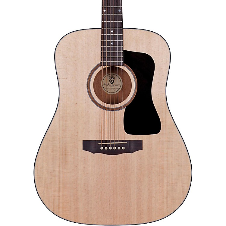 Guild Arcos Series AD-3 Mahogany Dreadnought Acoustic Guitar