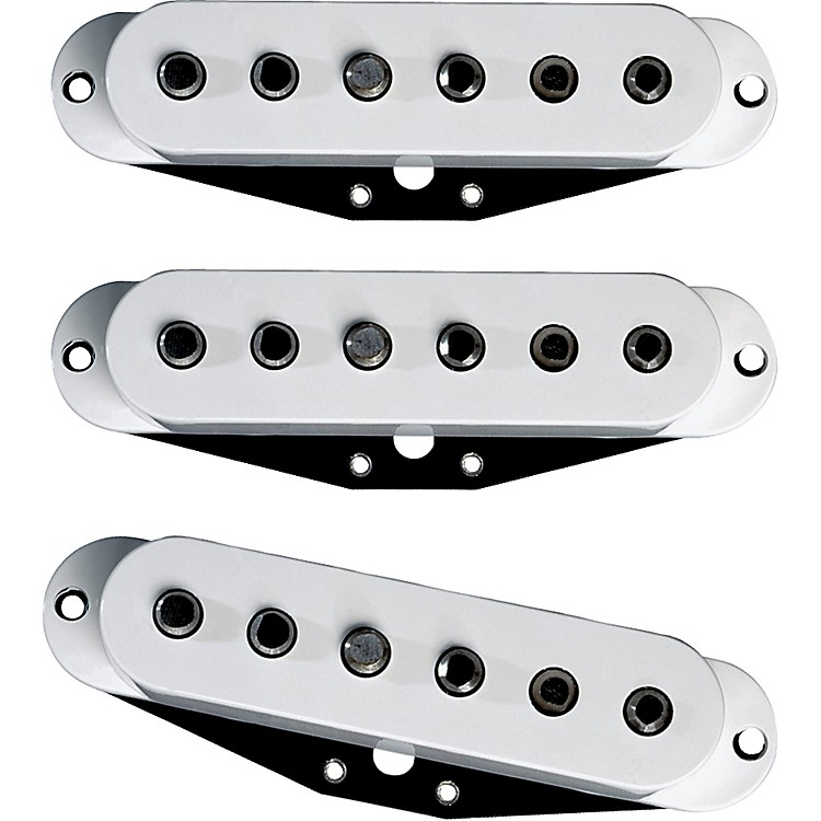 DiMarzio Area Strat Pickup Set White