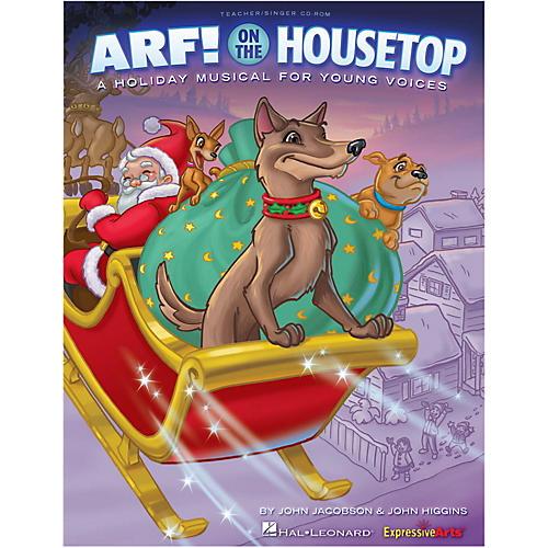 Hal Leonard Arf! On The Housetop Performance/Accompaniment CD-thumbnail