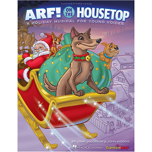 Hal Leonard Arf! On The Housetop Teacher/Singer CD-ROM