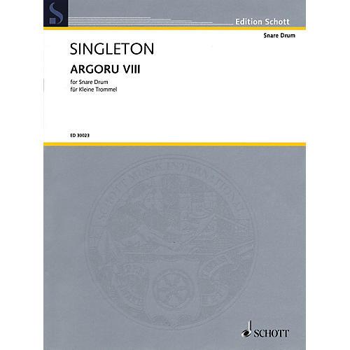 Hal Leonard Argoru VIII for Snare Drum Percussion Series-thumbnail